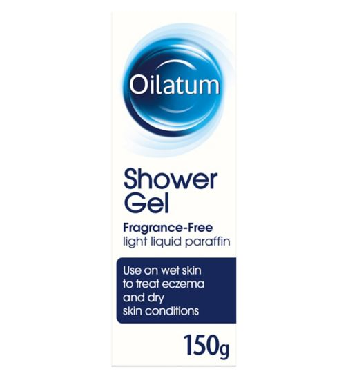 Oilatum Shower Gel Fragrance-Free for Eczema 150 g