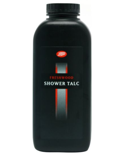Boots Freshwood Shower Talc