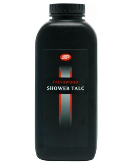 Boots Freshwood Shower Talc