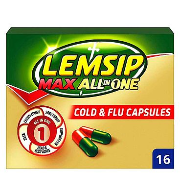 Lemsip Max All In One Capsules - 16s