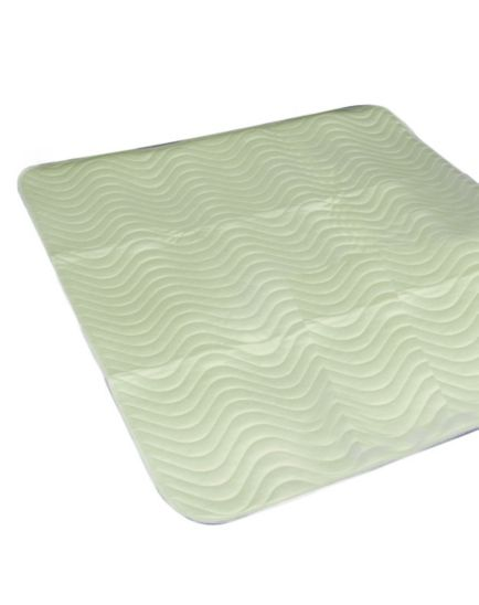 Homecraft Reusable Abso Bed Protector 75x90cm Green - 1.8 Litres