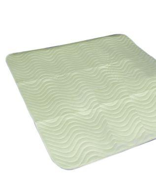 homecraft reusable abso bed protector 75x90cm green 18 litres