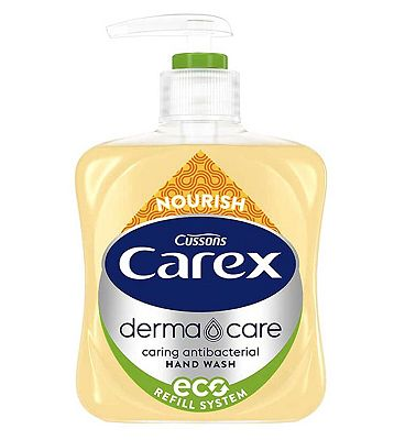 Cussons Carex Nature Protect Antibacterial Hand Wash Manuka Honey & Oatmilk 250ml