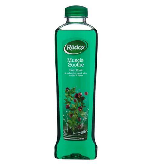 Radox  Original Bath Soak Juniprer & Thyme 500ml
