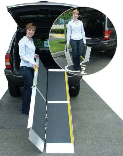 Homecraft Trifold Ramp - 8ft
