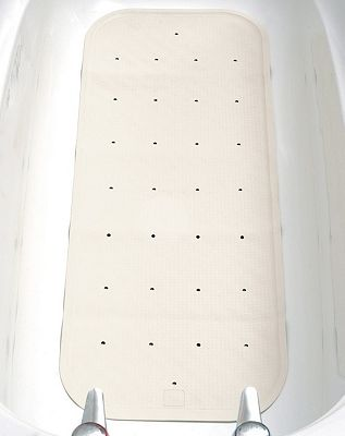 Homecraft White Bath Mat - Extra Large