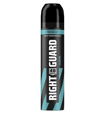 Right Guard Total Defence 5 Clean 48H High-Performance Anti-Perspirant Deodorant 250ml