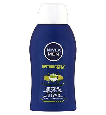 NIVEA MEN Energy Shower Gel 50ml