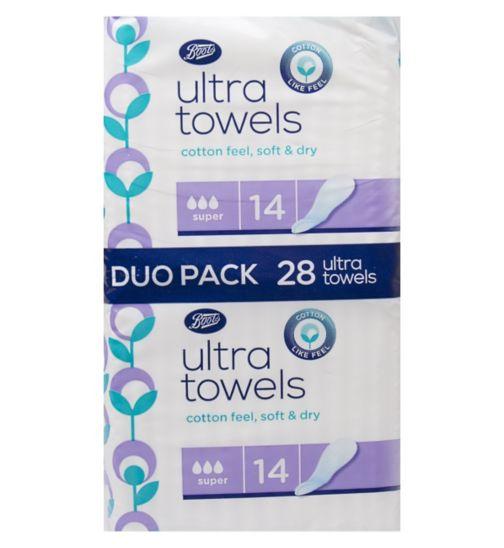 Boots towels duo super 28s
