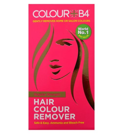 hair dye remover boots