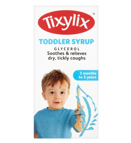 Tixylix Toddler Syrup Blackcurrant Flavour  - 100ml