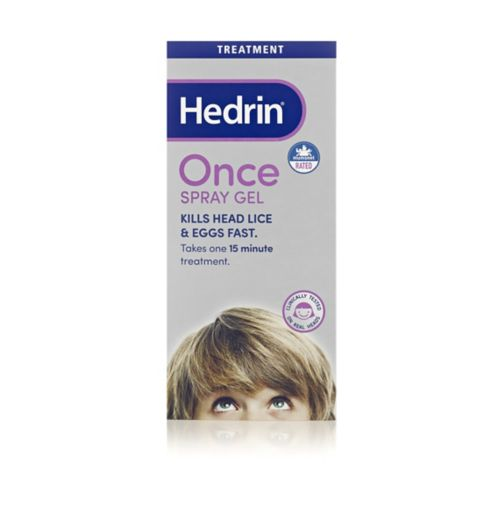 Hedrin Spray Gel - 100ml