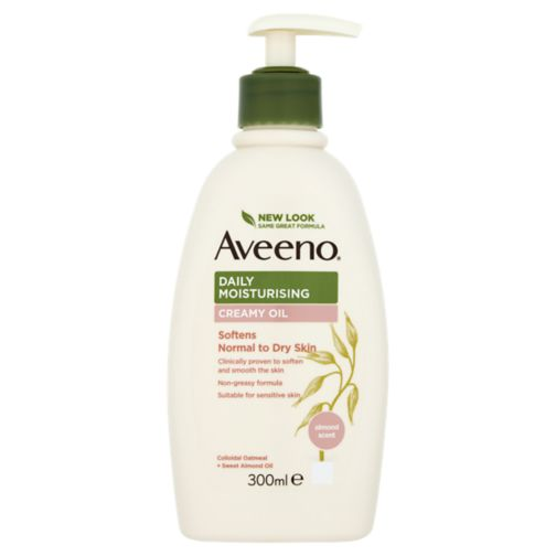 Aveeno Moisturising Creamy Oil With Colloidal Oatmeal 300ml