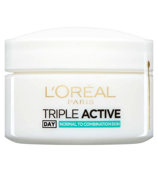 L'Oréal Paris Triple Active Day Moisturiser Normal to Combination Skin 50ml