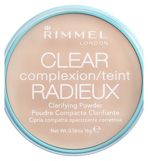 Rimmel Clear Complexion Transparent Powder