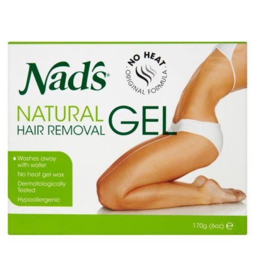 Nad's Natural Hair Removal Gel 170g