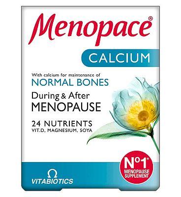 Menopace Calcium Tablets - 60