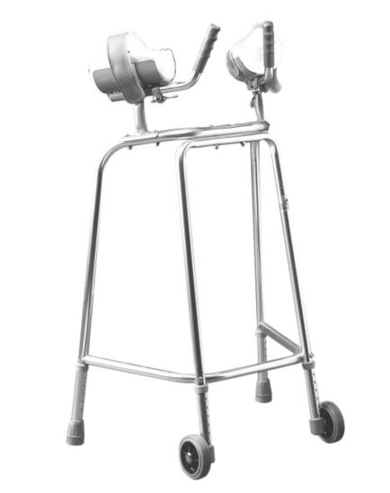 <p>Homecraft Trough Wheeled Walking Frame&nbsp;</p>