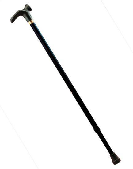 <p>Homecraft Contoured Grip Handle Walking Stick - Black</p>