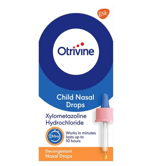 Otrivine Child Nasal Drops - 10ml