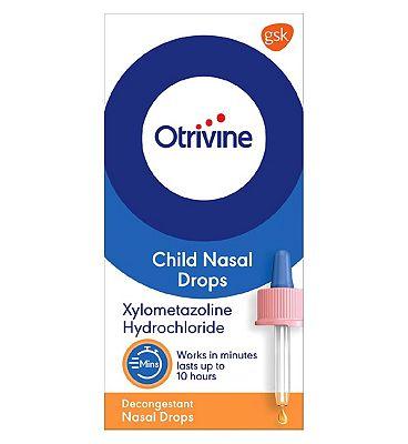 Otrivine Child Nasal Drops - 10ml