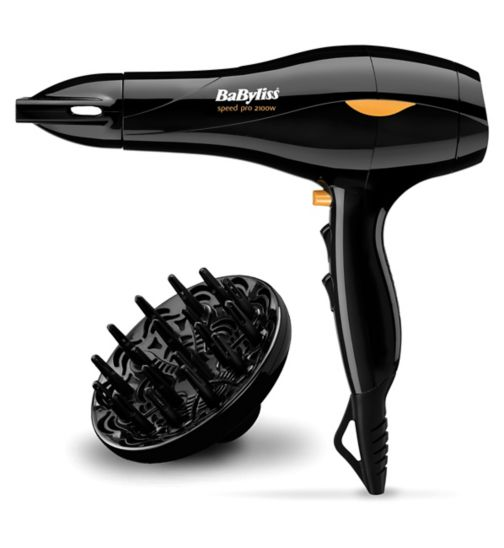 BaByliss Pro Speed 2100 Hair Dryer 5541U  - Exclusive to Boots