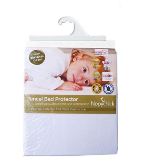 Hippychick Tencel Fitted Mattress Protector - 70 x 140cm