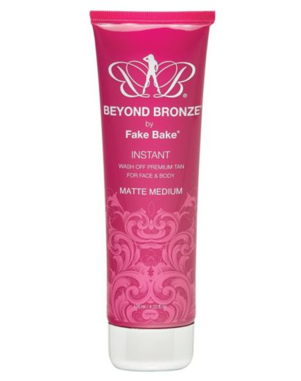 Fake Bake Beyond Bronze Wash Off Tan Matte Medium 125ml