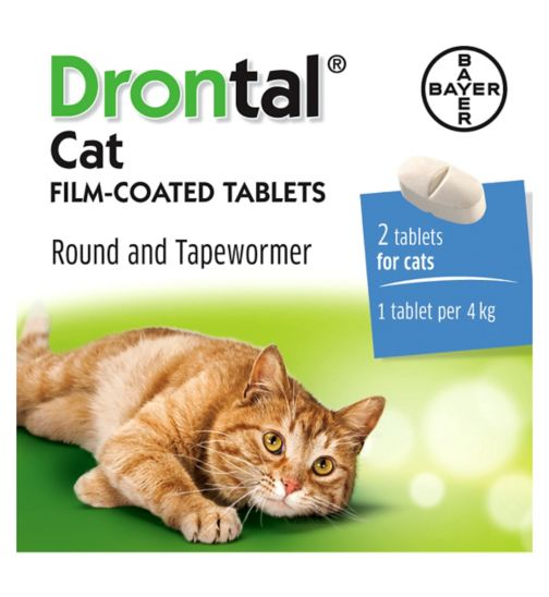 Drontal Cat Tablets - 2 Tablets