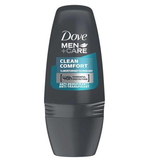 Dove Men+Care Clean Comfort Anti-perspirant Deodorant Roll-on 50ml