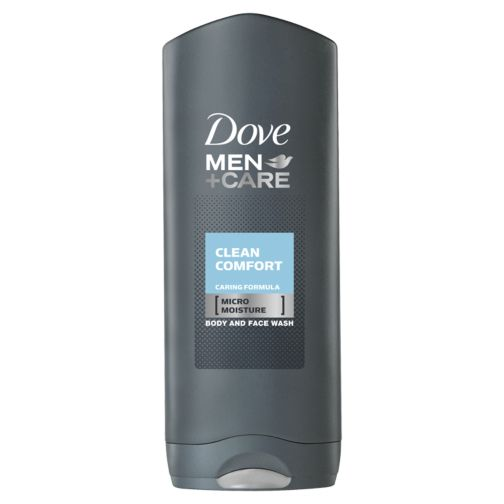 Dove Men+Care Clean Comfort Body and Face Wash 400ml