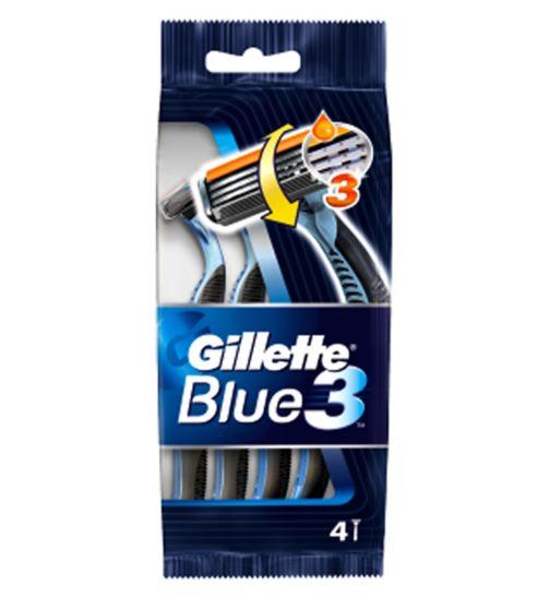 Gillette Blue3 Disposables 4pk