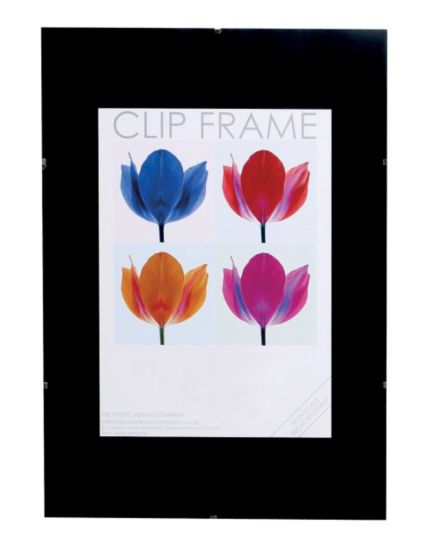 Glass Clip Photo Frame 14x11