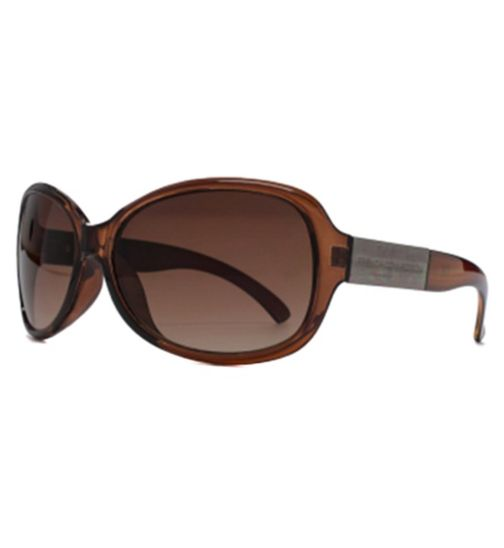 French Connection Woman Butterfly with metal Brand detail Sunglasses