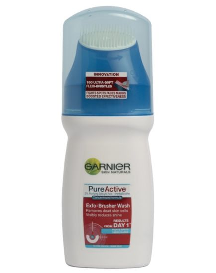 Garnier Pure Active Exfo-Brusher Wash