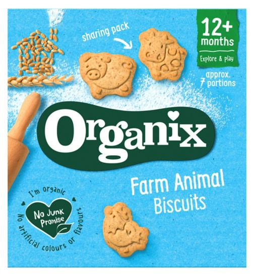 Organix 12m+ Goodies Animal Biscuits 100g