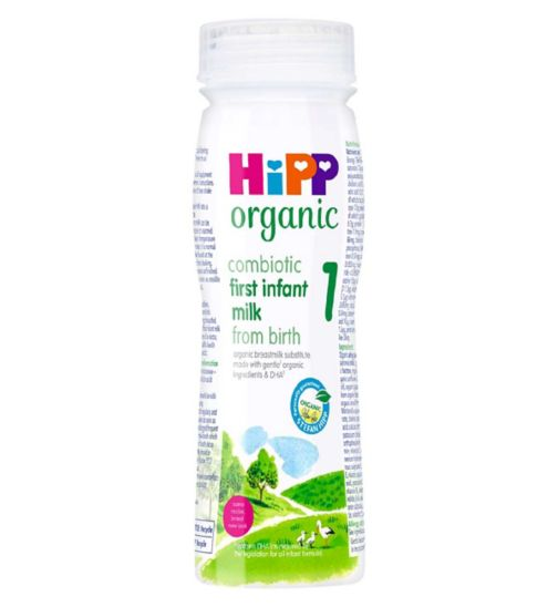 Hipp Organic Combiotic First Infant Milk 1 from Birth Onwards 200ml