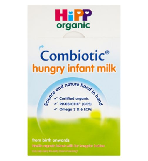 HiPP Organic Combiotic Hungry Infant Milk From Birth Onwards 2 x 400g (800g)