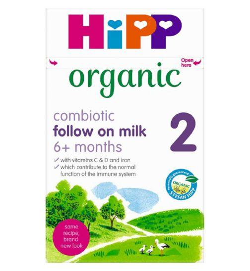 HiPP Organic Combiotic Follow On Milk 800g
