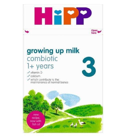 HiPP 3 Growing Up Baby Milk Powder from 1 Year Onwards 600g