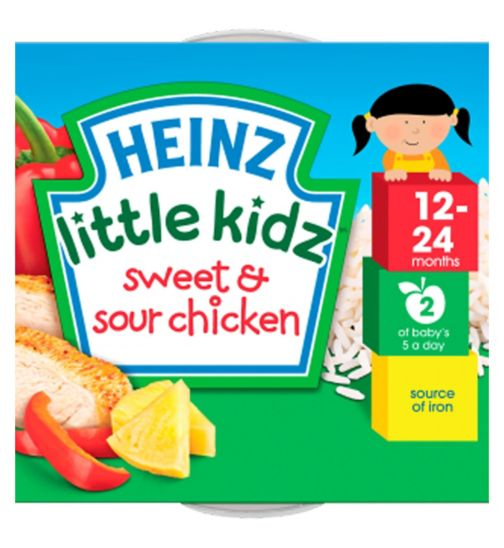 Heinz 12-24 Months Little Kidz Sweet & Sour Chicken 230g