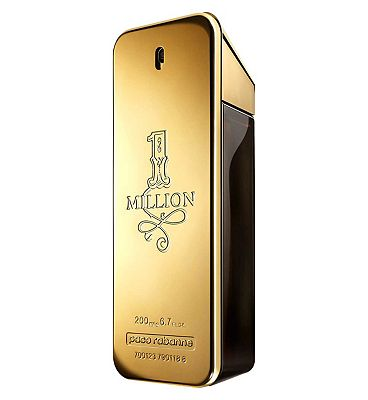 1 Million 200ml Paco Rabanne Eau de Toilette