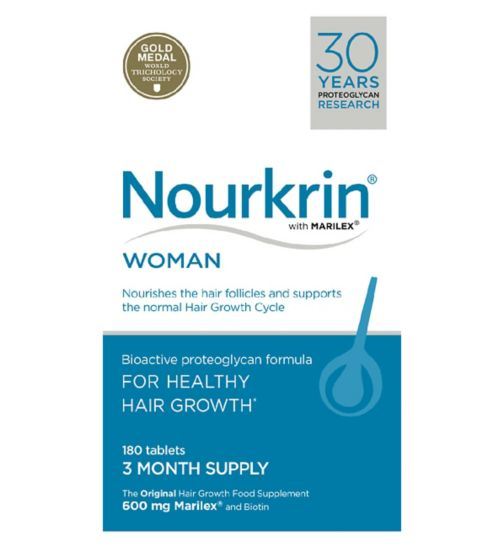 Nourkrin WOMAN 180s (3 month supply)