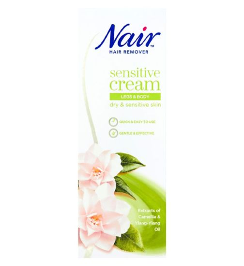 Nair Sensitive Hair Removal Cream 200ml