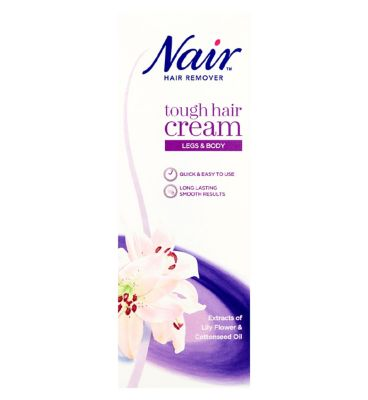 Bikini line hair removal cream