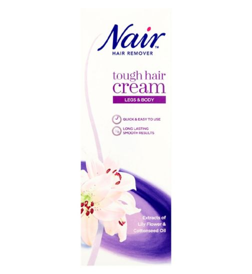 Nair Tough Hair Hair Removal Cream 200ml