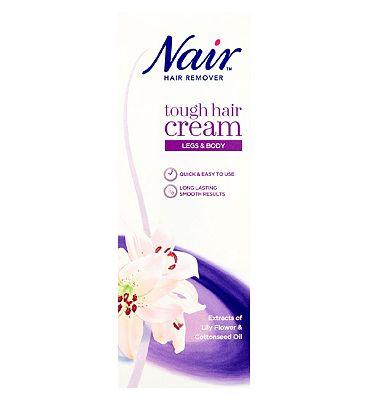 Nair Tough Hair Hair Removal Cream 200ml