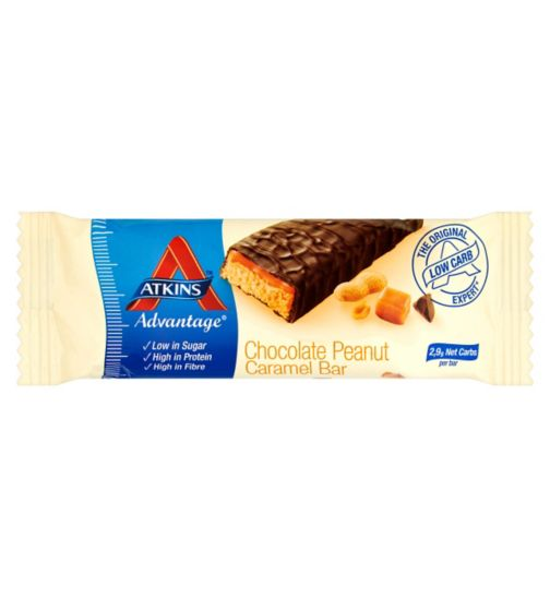 Atkins Advantage Chocolate Peanut Caramel 60g Bar