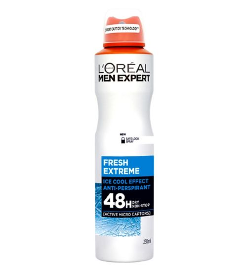 L'Oreal Men Expert Fresh Extreme Anti-Perspirant Deodorant Spray 250ml