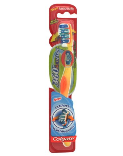 Colgate 360° Actiflex Medium Toothbrush